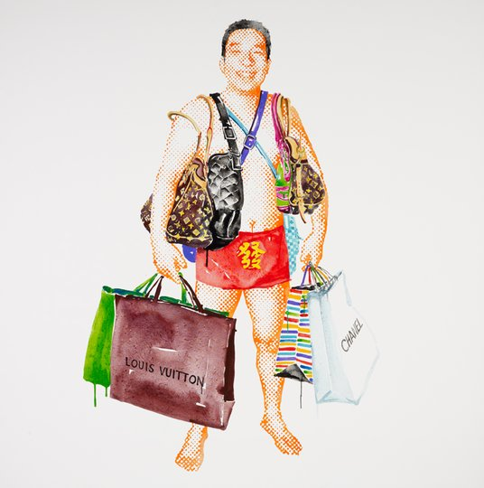 AGNSW prizes Song Ling My name is Fartunate – self-portrait, from Archibald Prize 2011
