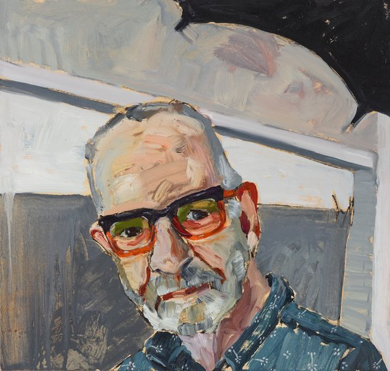 AGNSW prizes Alison Mackay Quid pro quo (portrait of photographer Gary Grealy), from Archibald Prize 2018