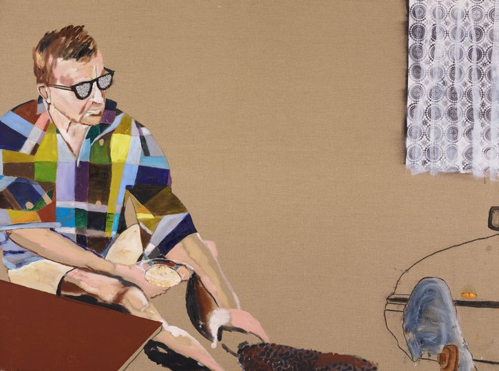 AGNSW prizes William Mackinnon The long apprenticeship, from Archibald Prize 2018