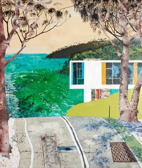 AGNSW prizes William Mackinnon Landscape as self-portrait, from Wynne Prize 2017