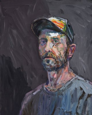 AGNSW prizes Guy Maestri The fourth week of parenthood (self-portrait), from Archibald Prize 2018