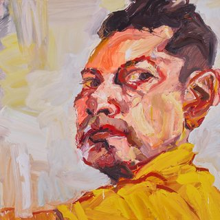 AGNSW prizes Robert Malherbe Self-portrait, from Archibald Prize 2017