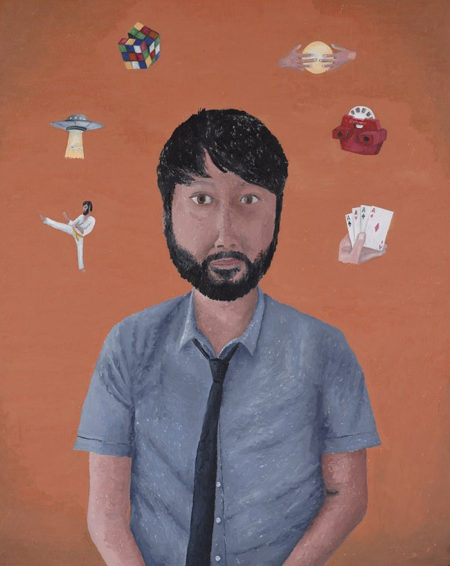 AGNSW prizes Dean Manning Maximum Lawrence, from Archibald Prize 2016