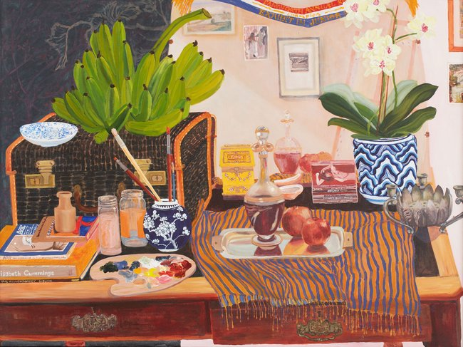 AGNSW prizes Kiata Mason The artist's table, from Sir John Sulman Prize 2018