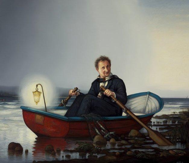 AGNSW prizes Alexander McKenzie Andrew Upton, from Archibald Prize 2010
