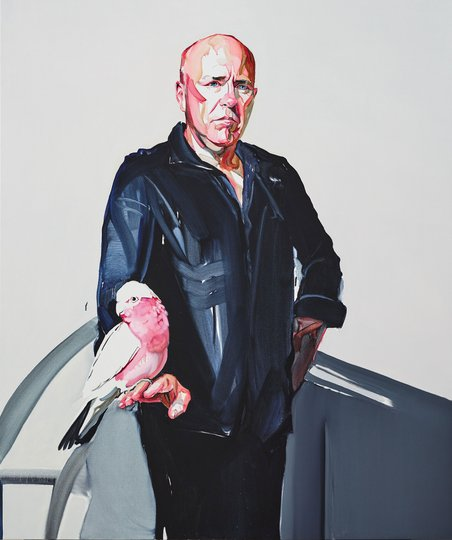 AGNSW prizes Julian Meagher Herb and Flan, from Archibald Prize 2018