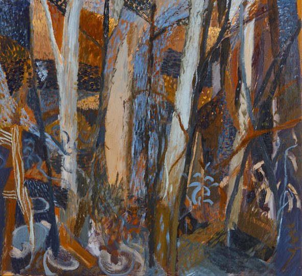 AGNSW prizes Ben Milne The bush studio – Jack's Track, from Wynne Prize 2017