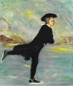 Self-portrait after Henry Raeburn