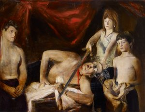 Artist and family (after Caravaggio)