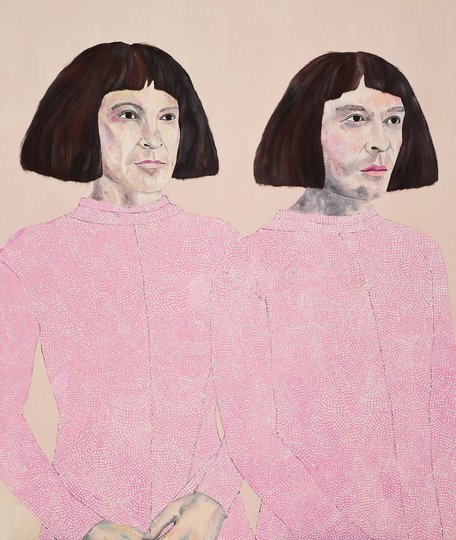 AGNSW prizes Sally Ross The Huxleys, from Archibald Prize 2018