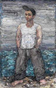 Self-portrait, Bulli Beach