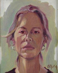 Unadorned (self-portrait)