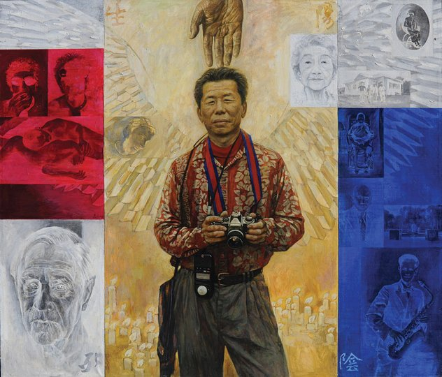 AGNSW prizes Jiawei Shen William Yang, from Archibald Prize 1999