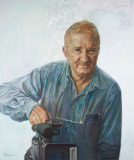 AGNSW prizes Jiawei Shen Homage to Esben Storm, from Archibald Prize 2012