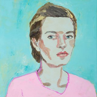 AGNSW prizes Vanessa Stockard Self-portrait, from Archibald Prize 2018