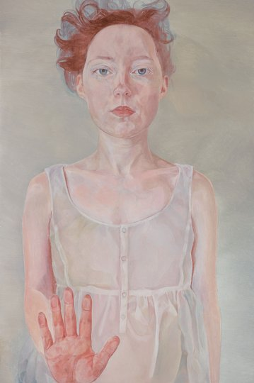 AGNSW prizes Natasha Walsh Numb to touch (self-portrait), from Archibald Prize 2018