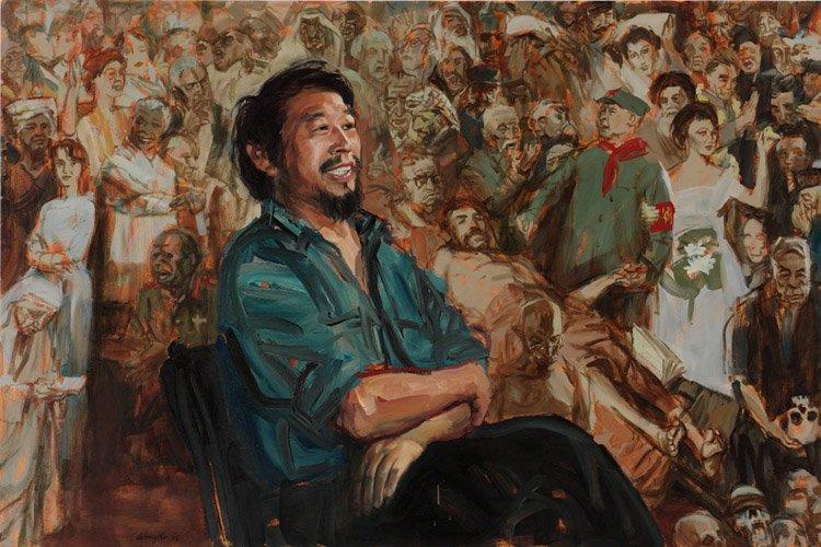 AGNSW prizes Xu Wang Jiawei Shen, from Archibald Prize 2005
