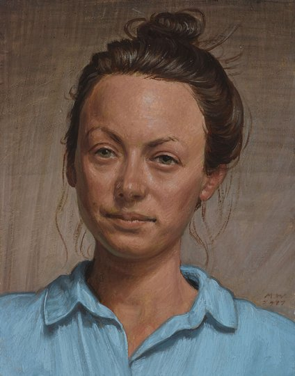 AGNSW prizes Marcus Wills Lotte, from Archibald Prize 2018