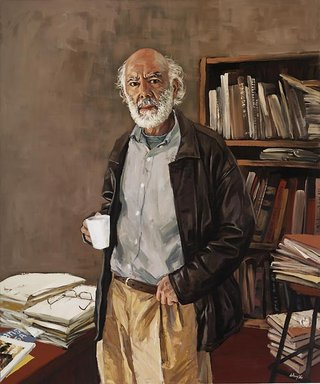 AGNSW prizes Xu Wang Nick Waterlow, from Archibald Prize 2008