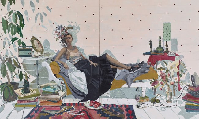 AGNSW prizes Zoe Young Sam Harris, from Archibald Prize 2016