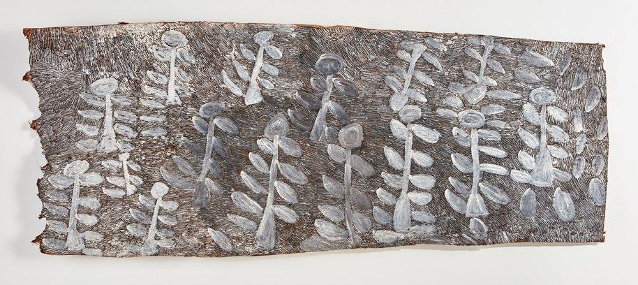 AGNSW prizes Nyapanyapa Yunupingu Landscape, from Wynne Prize 2017