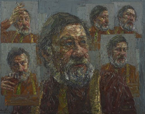 AGNSW prizes Jun Chen Ray Hughes and five other moods, from Archibald Prize 2009