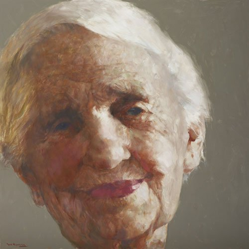 AGNSW prizes Hong Fu Dame Elisabeth Murdoch, from Archibald Prize 2009