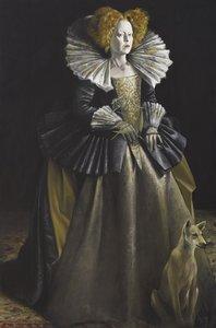 Greta Scacchi as Queen Elizabeth in Mary Stuart