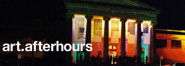 art after hours, every wednesday 5-9pm, art talks concert jazz films