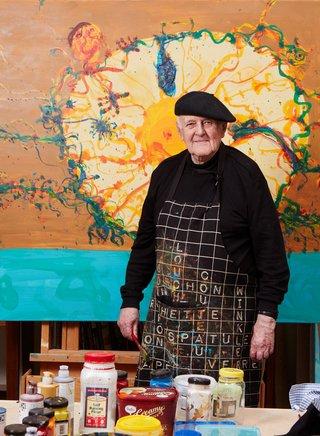 AGNSW artist profile John Olsen