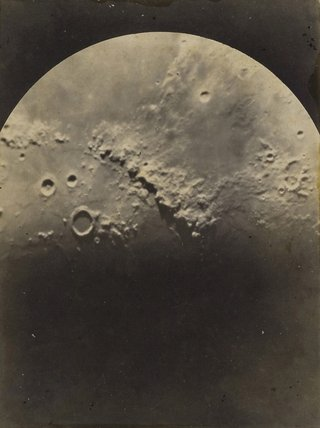 **James Short** *The Moon* c1890 -1922, gelatin silver photograph, Museum of Applied Art and Sciences, Sydney, gift of Mrs Carole Short 2005