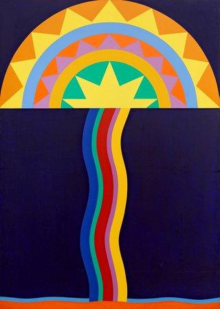 Sydney Ball *Transoxiana 9* (1968)