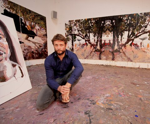 Ben Quilty. Photo: Andre de Borde