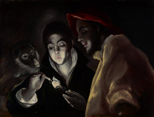 El Greco *An allegory (Fábula)* c1585–95, oil on canvas