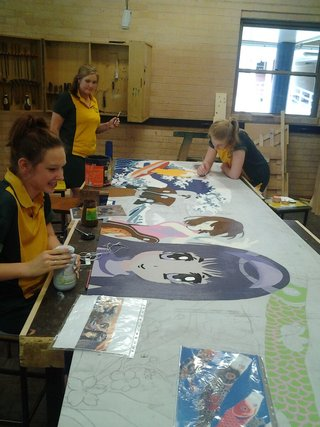 Culture Club, Bunka Kurabu, Year 10  Tuggerah Lakes Secondary College, Berkley Vale Campus, NSW
