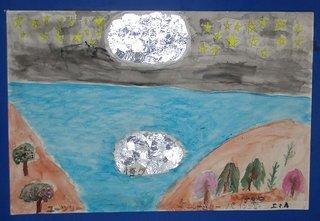*Enlightened moonlight* Emma Avakian, Year 4 Farrer Primary School, ACT