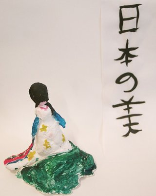 *Wedding cake kimono* Eleanor Cranswick, Year 3 Farrer Primary School, ACT