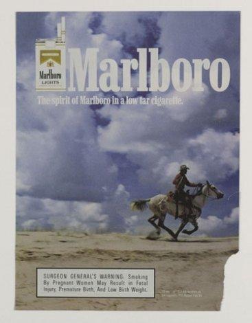 Tear Sheet, Original Marlboro Ad