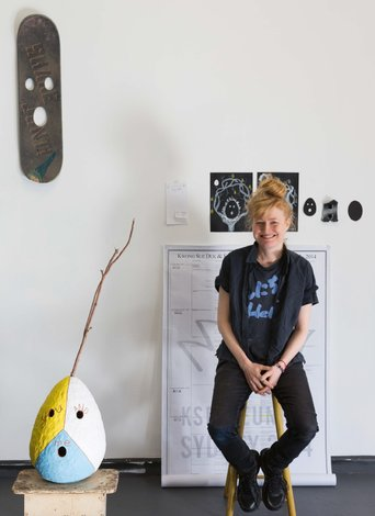 Nell, 2016 Artspace One Year Studio Artist. Courtesy Artspace, Sydney. Photo: Jessica Maurer