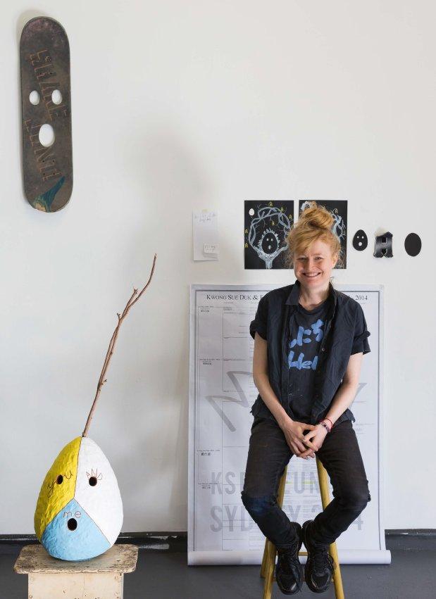 Nell, 2016 Artspace One Year Studio Artist. Courtesy Artspace, Sydney. Photo: Jessica Maurer