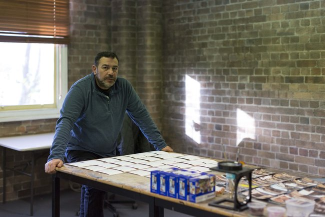 Khaled Sabsabi. Photo by Jessica Maurer, courtesy Artspace