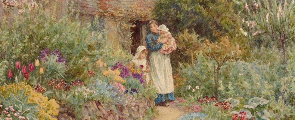 Victorian watercolours: made for the middle class