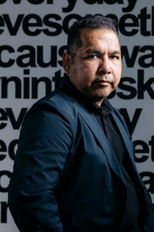 Image: Vernon Ah Kee. Photo: Joe Ruckli