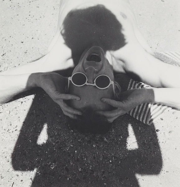 Olive Cotton *The photographer's shadow* 1935