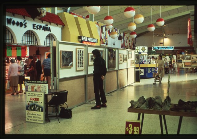 Contrasts, the first Onsight travelling exhibition, Penrith, Western Sydney, 1980. National Art Archive   Art Gallery of NSW