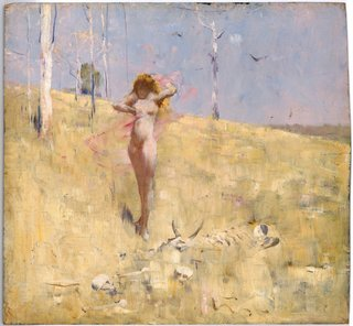 NATIONAL GALLERY OF AUSTRALIA COLLECTION Arthur Streeton *The spirit of the drought* c1896