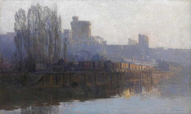 NATIONAL GALLERY OF VICTORIA COLLECTION Arthur Streeton *Windsor* c1904
