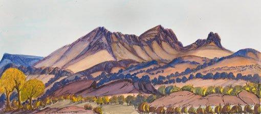 Ivy Pareroultja Mt Sonder Lookout 2009