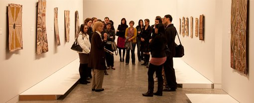 Guided tour of the Yiribana Gallery