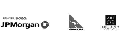 Self-portrait sponsor logos